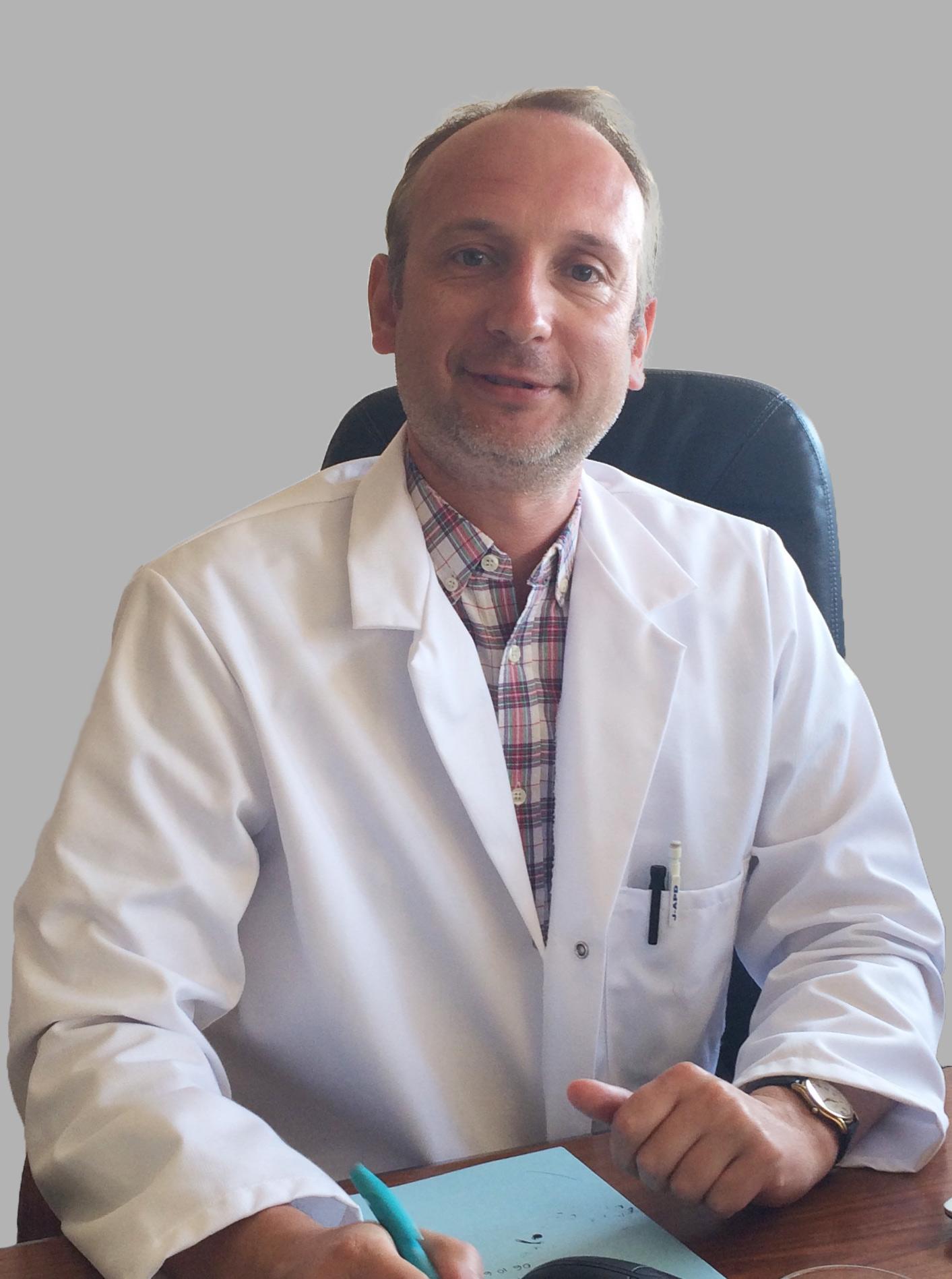 Antoine Hinsberger, pharmacien et docteur en Sciences pharmaceutiques.